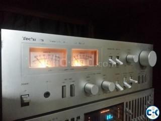 Technics vu meter sterio powerful amplifier