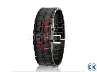 Samurai LED Wrist Watch Red LED
