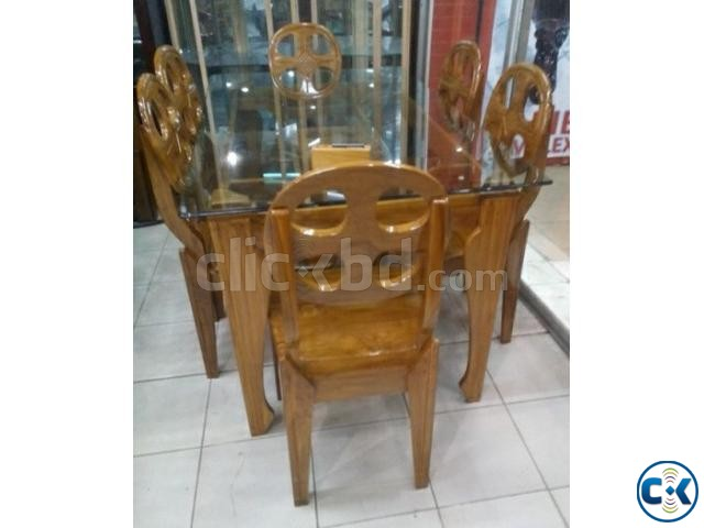 Spring Offer On dining 6 Chair | ClickBD large image 2