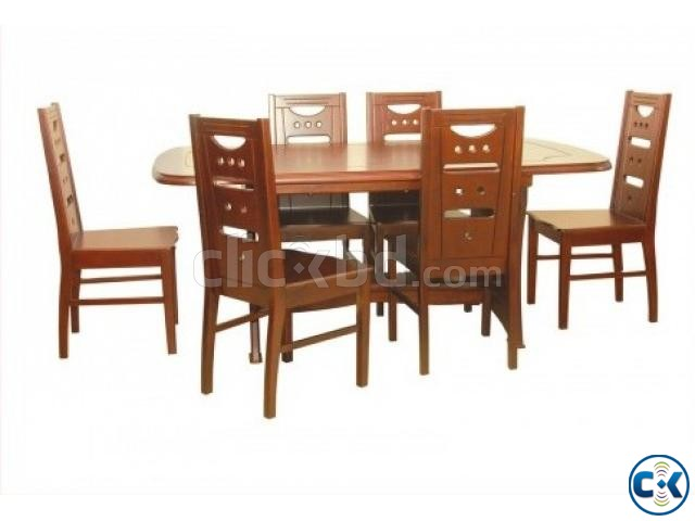 Spring Offer On dining 6 Chair | ClickBD large image 1