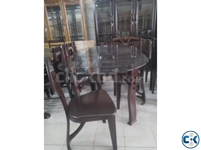 Spring Offer On dining 6 Chair | ClickBD large image 0