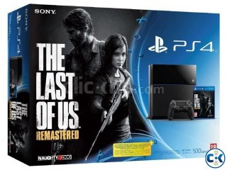 Sony PS4 Console 500GB Brend New Lowest Price in BD