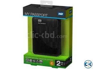 WESTERN DIGITAL MY PASSPORT 2TB EXTERNAL HARD DISK