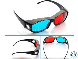 1 pcs 3D Glass 10 Movies Only 1000TK