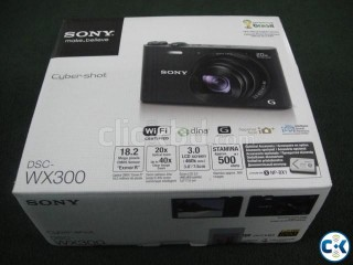SONY DSC WX300 CYBER SHOT CAMERA WIFI- THAILAND