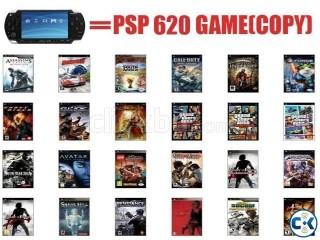 PSP ALL Games COPY 700 Games per 20TK
