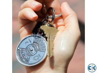 50 Years Calendar Key Ring - 508