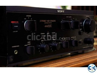 SONY EXTREMELY HIGH STANDARD POWER STERIO AMPLIFIER.