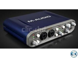M Audio Fast Track Pro USB Soundcard