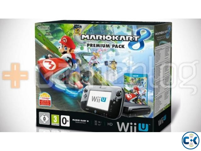 Wii U 32GB Console Lowest Price brend New in BD   ClickBD large image 0