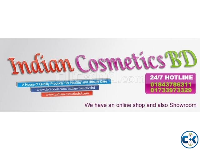 indian cosmetics bd phone 02-9611362 | ClickBD large image 1