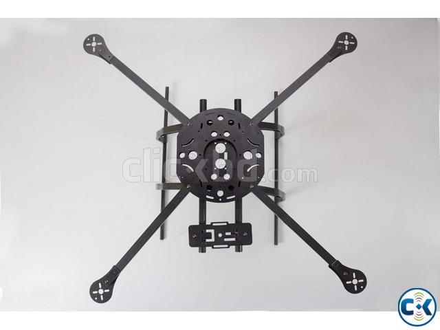 hobbyking x580 glass fiber quadcopter frame w camera mount clickbd large image 0