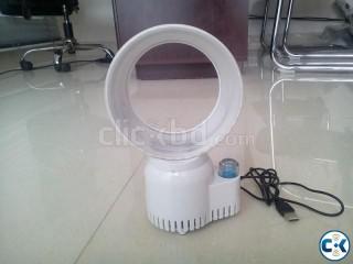 USB Blease Less Fan With air Freshner