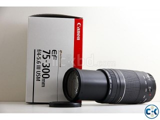 CANON EF-S 75-300mm f 4-5.6 Lens . ELECTRIC DREAM