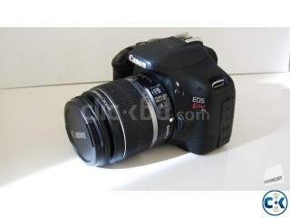 Canon EOS 550D kiss x4 With Xtra Prime Lens