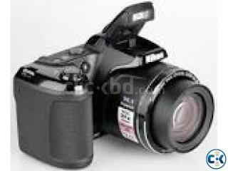 NIKON Coolpix L330 20.2 Mega Pixel Smart Semi DSLR Camera