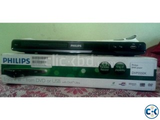 Philips 21 TV DVD USB Player Package