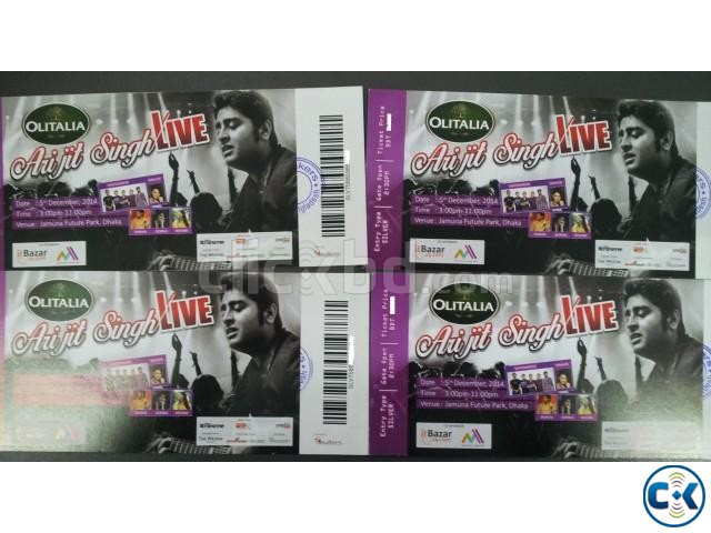 Arijit Singh Concert 4 Silver Tickets | ClickBD large image 1