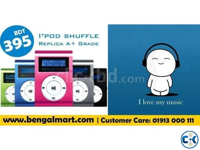 iPod Shuffle with Display MP3 Player  | ClickBD large image 0