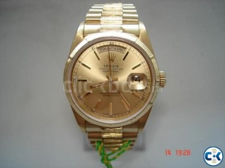 Solid gold original Rolex