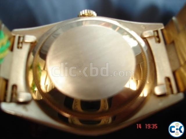 Solid gold original Rolex | ClickBD large image 1