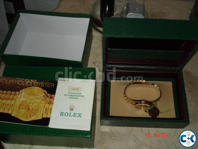 Solid gold original Rolex | ClickBD large image 4