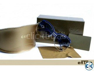 Gucci Blue Ladies Sunglass