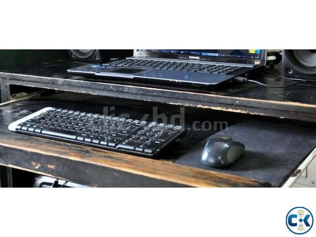 Logitech Wireless Keyboard and Mouse Low Price  | ClickBD large image 1