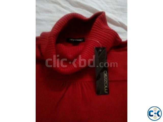 High Neck Sweater women Stock Lot | ClickBD large image 1