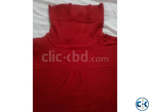 High Neck Sweater women Stock Lot | ClickBD large image 2