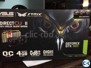 Nvidia GTX 980 Strix DCIIOC