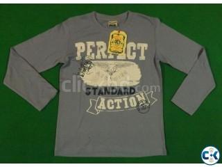 Boys long sleeve t-shirt stock lot