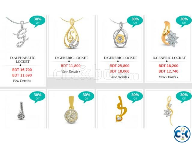 Exquisite Collection of Diamond jewellery in Dhaka | ClickBD large image 0