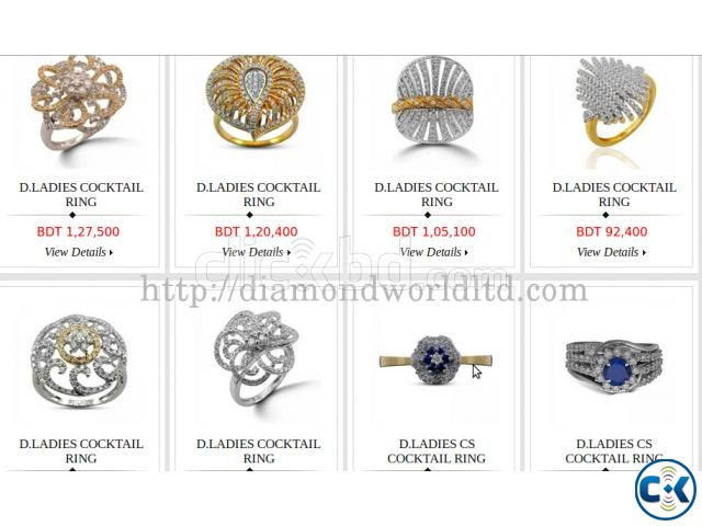 Exquisite Collection of Diamond jewellery in Dhaka | ClickBD large image 1