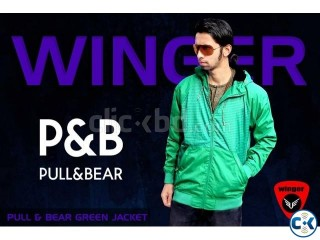 Pull Bear Green Jacket