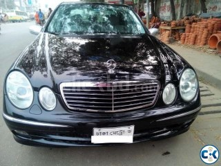 Mercedes E Class For Rent Service