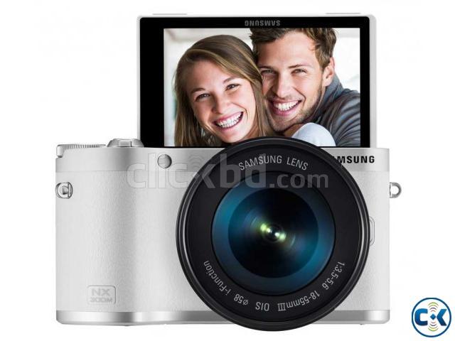 Samsung NX300M CMOS Smart WiFi NFC | ClickBD large image 0