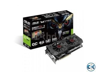 ASUS Strix GeForce GTX 980 4GB Gaming Card