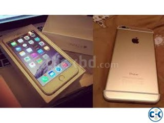 i Phone 6 Gold Color 16 GB Full Intact Box with everything