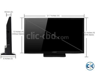 BRAND NEW 24 inch SONY BRAVIA P412 HD LED TV WITH monitor