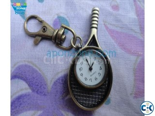 Racket Watch Key Ring
