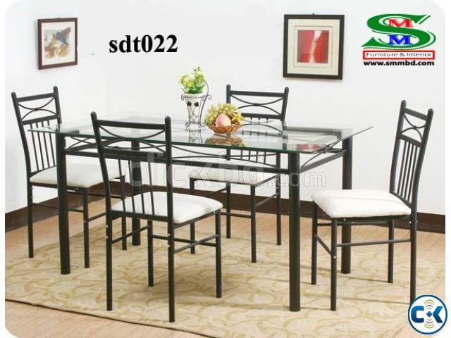 Steel Dinning Table 022  | ClickBD large image 0