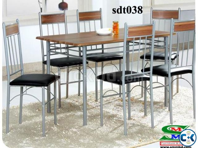 Steel Dinning Table 038  | ClickBD large image 0