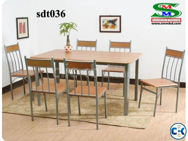 Steel Dinning Table 036  | ClickBD large image 0