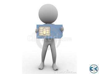 Gp BL Robi airtel Taletalk Six Digit Same SIM CARD