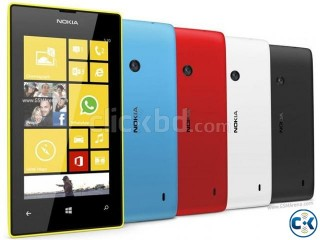 Nokia lumia 520 used wid no scratch box nd screen protect