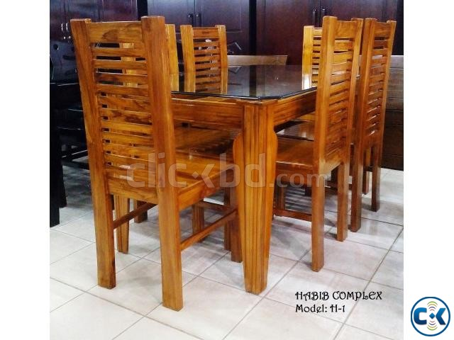 New Year offer On H-1 Dining 6 Chair | ClickBD large image 0