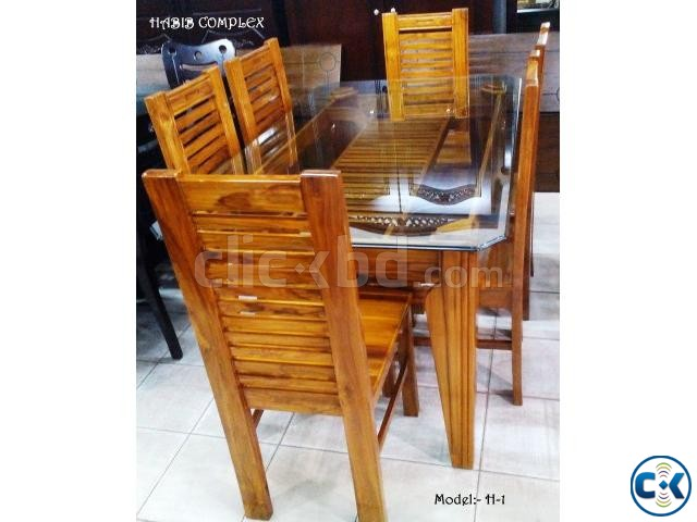 New Year offer On H-1 Dining 6 Chair | ClickBD large image 1