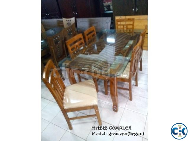 New Year offer On Grameen Dining 6 Chair | ClickBD large image 0