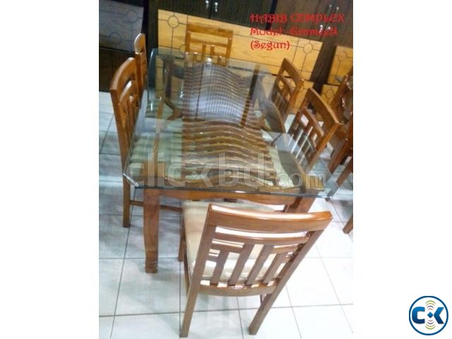 New Year offer On Grameen Dining 6 Chair | ClickBD large image 1